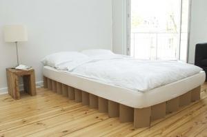 Papp Bett bett aus pappe room in a box die betten berater