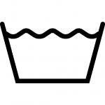 Waschen Symbol